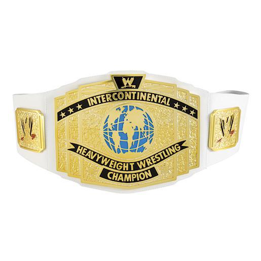 WWE Intercontinental Heavyweight Wrestling Champion Belt
