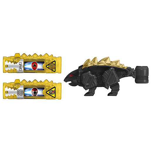 Power Rangers Dino Super Charge Power Pack Black Ankylos Zord