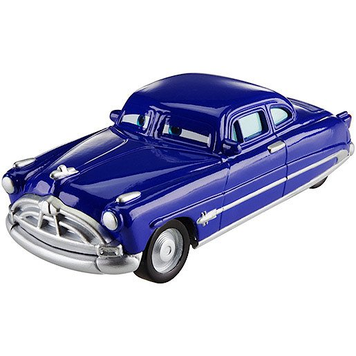Image of Disney Cars Wheel Action Drivers Vehicle - Doc Hudson
