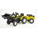 Falk Power Max Ride-on Loader with Trailer