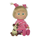 Masha and The Bear 12cm Doll with Dog Figure