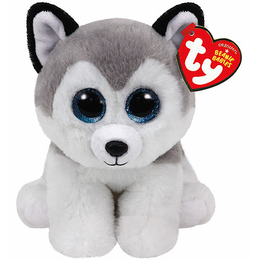 Ty Beanie Babies 15cm Classic Soft Toy - Buff the Husky
