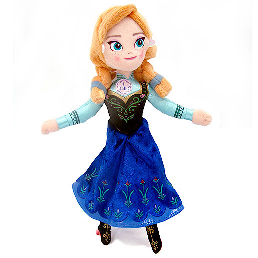 Disney Frozen - 20cm Talking Anna Soft Toy