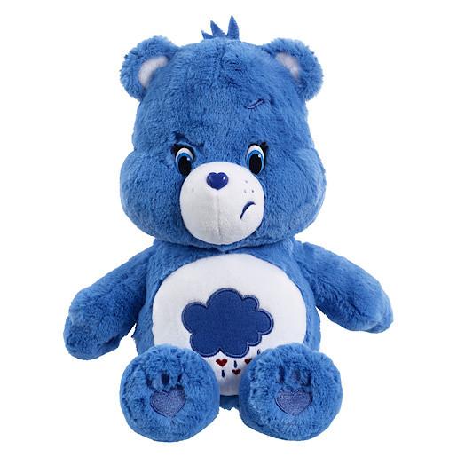 Care Bears Grumpy Bear Soft Toy with DVD