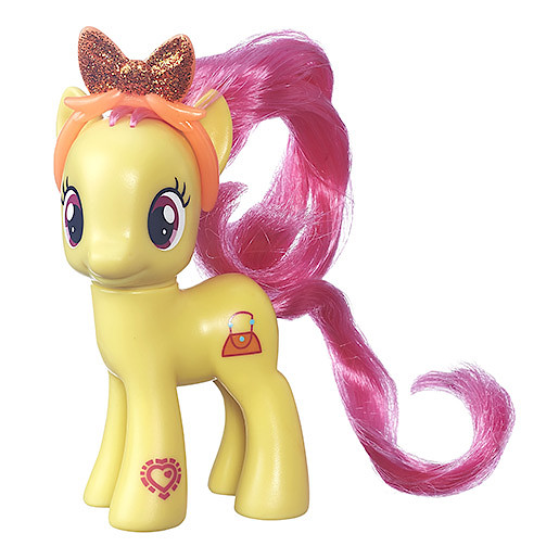 My Little Pony Figure - Pursey Pink