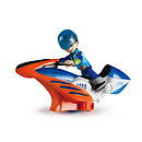 Disney Miles From Tomorrow - Hoverbike Vehicle and Miles Figure