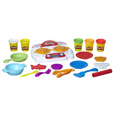 Play Doh Kitchen Creations Sizzlin Stovetop The Entertainer