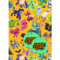 Animal Jam Wrapping Paper