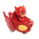 PJ Masks 3 Wheelie Vehicle - Owlette