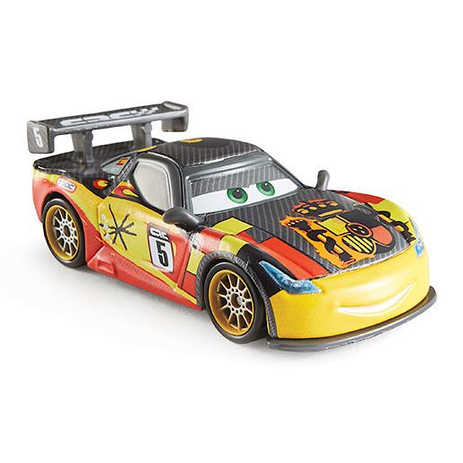 Image of Disney Pixar Cars Carbon Fibre Diecast Vehicle Miguel Camino