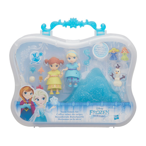 Disney Frozen Little Kingdom Snow Sisters Playset