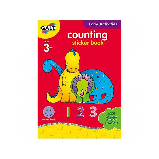 James Galt Early Activities Counting Sticker Book