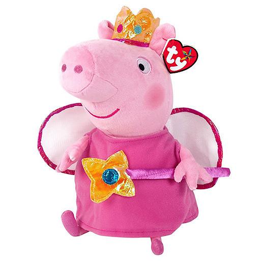 Ty Peppa Pig Buddy  Princess Peppa Soft Toy