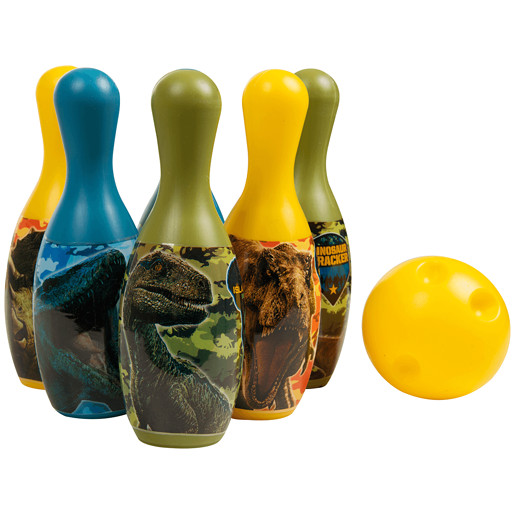 Jurassic World Bowling Set