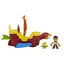 Disney Jake and the Never Land Pirates Skully's Soaring Ship Playset