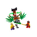 Lego Ninjago Masters of Spinjitzu Jungle Trap - 70752