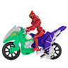 Power Rangers Dino Super Charge Dino Stunt Cycle with Super Charge Red Ranger Figure