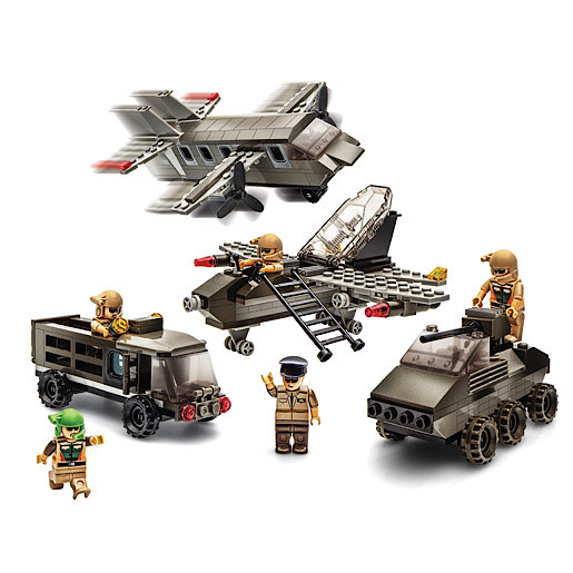 Image of Block Tech Extra Large Military Construction Set