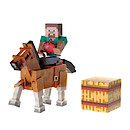 Minecraft Steve and Horse Wave 2