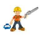 Bob the Builder Fuel Up Friends Figure with Accessory - Lumberjack Bob