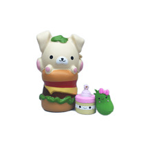 Smooshy Mushy Bento Box- American Burger Puppy