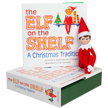 the elf on the shelf a christmas tradition the. Black Bedroom Furniture Sets. Home Design Ideas