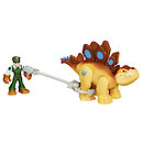 Playskool Heroes Jurassic World Figure with Catcher -Stegosaurus