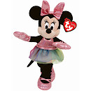 Ty Disney Minnie Buddy Soft Toy with Ballerina Dress