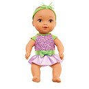 Waterbabies Sweet Cuddler Doll with Leopard Party Time Outfit