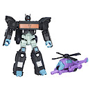 Transformers Generations Nemesis Prime and Spinister Figures