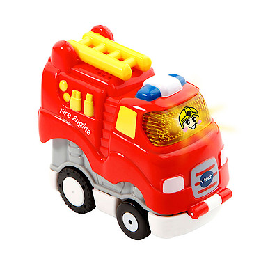 vtech toot toot drivers press n go fire engine the. Black Bedroom Furniture Sets. Home Design Ideas