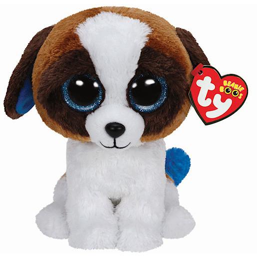 Ty Beanie Boos - Duke the Dog Soft Toy