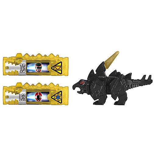 Power Rangers Dino Super Charge Power Pack  Black Stego Zord