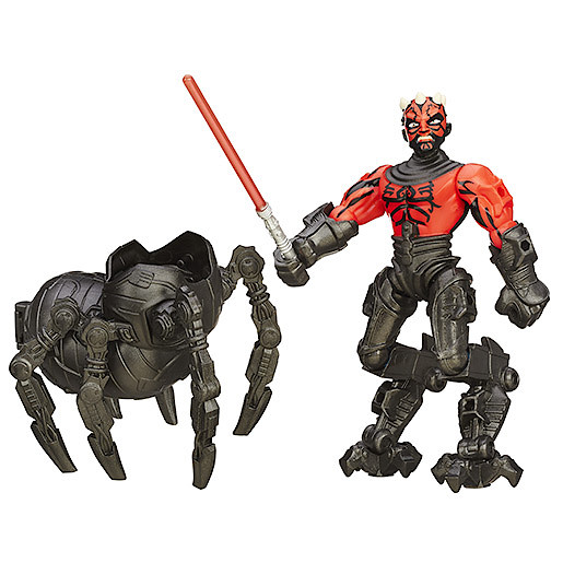 Star Wars Hero Mashers Deluxe Darth Maul Figure