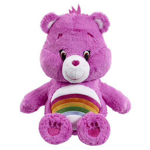 Care Bears Cheer Bear Soft Toy with DVD