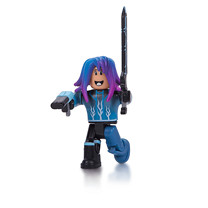 Roblox Blue Lazer Parkour Runner Action Figure