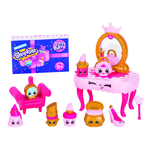 Shopkins Series 7 Deluxe Pack  Princess Party