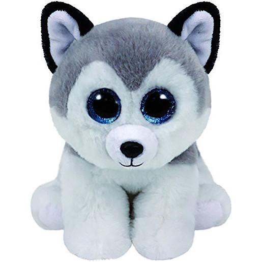 TY Beanie Babies 25cm Classic Soft Toy - Buff Husky