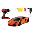 1:10 Orange Lamborghini with Black Window Screen