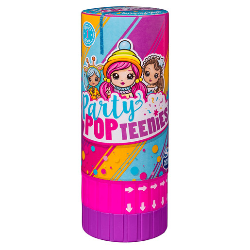 Party Popteenies - Surprise Popper with Collectible Mini Doll (Styles Vary)