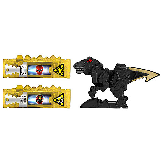 Power Rangers Dino Super Charge Power Pack  Black Raptor Zord