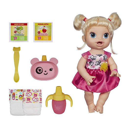 Baby Alive My Baby All Gone Doll Blonde The Entertainer