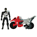 Power Rangers Dino Charge Cycle With Black Ranger Figure