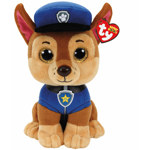 Ty Paw Patrol Soft Toy - Chase Buddy