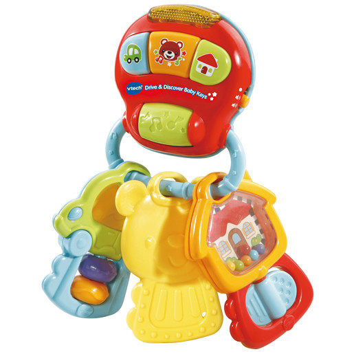 Vtech Drive Discover Baby Keys Toys For 0 6 Month Olds Baby