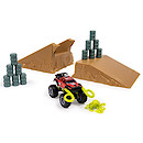 Monster Trucks Ragin' Red Big Rock Jump Set