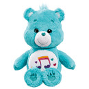 Care Bear Medium Plush With DVD - Heartsong Bear