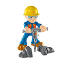 Bob the Builder Fuel Up Friends Figure with Accessory - Rock Splitting Bob