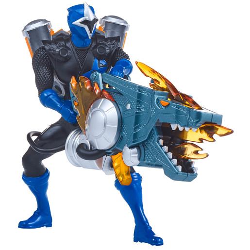 Power Ranger Super Ninja Steel Heavy Assault Rangers - Blue Ranger