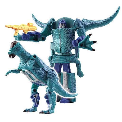 Robotsaur Transformable Pachycephalosaurus-Bot Figure